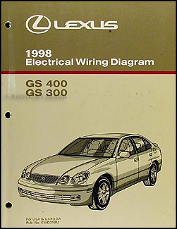 1998 lexus gs 400 wiring diagram 1998 lexus gs 300 wiring diagram 1998 lexus gs 300 400 wiring diagram manual gs300 gs400 ...