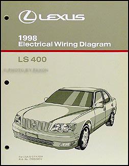 1998 lexus ls 400 wiring diagram manual original rh faxonautoliterature com Lexus 430 1998 Inside 2000 Lexus ES 300