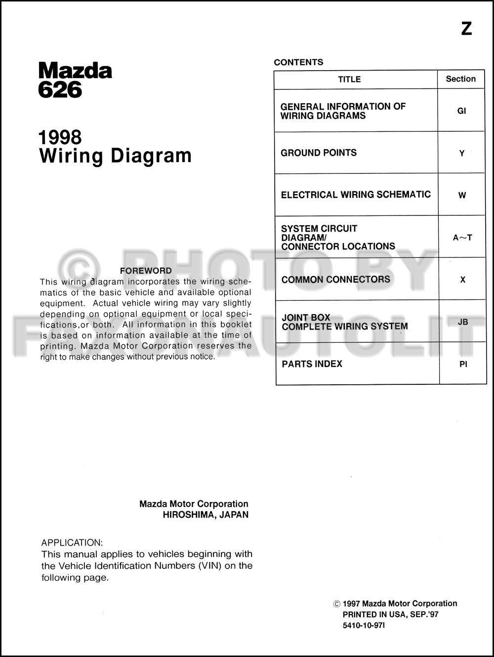1998 mazda 626 wiring diagram manual original mazda 121 wiring diagram free mazda 6 wiring diagram free download schematic #9
