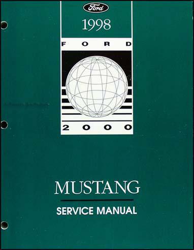mustang factory service manual