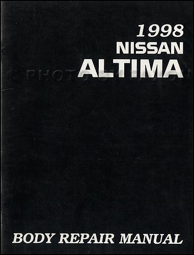 1998 Nissan Frontier Body Repair Manual Original