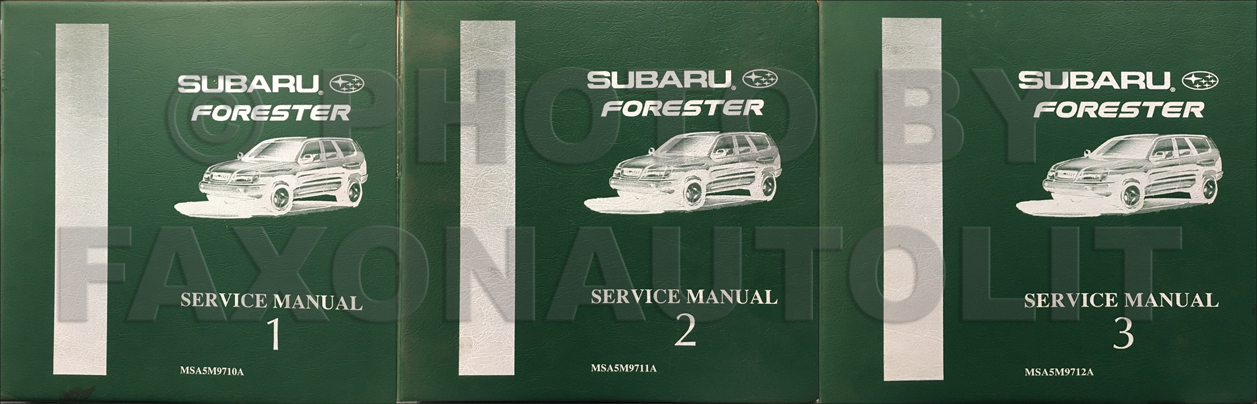 1998 subaru forester repair shop manual original 3 volume set rh faxonautoliterature com Subaru Forester Dashboard 2002 Subaru Forester Manual