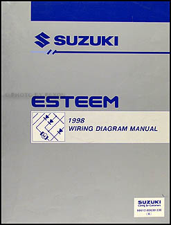 1998SuzukiEsteemWD 1998 suzuki esteem wiring diagram manual original