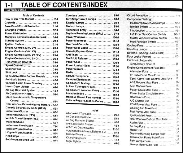 97 ford taurus manual various owner manual guide u2022 rh justk co 1997 ford taurus repair manual free online 1997 ford taurus repair manual free online