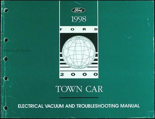 1998 lincoln town car electrical and vacuum troubleshooting manual rh faxonautoliterature com 98 lincoln town car radio wiring diagram 1998 lincoln town car radio wiring diagram