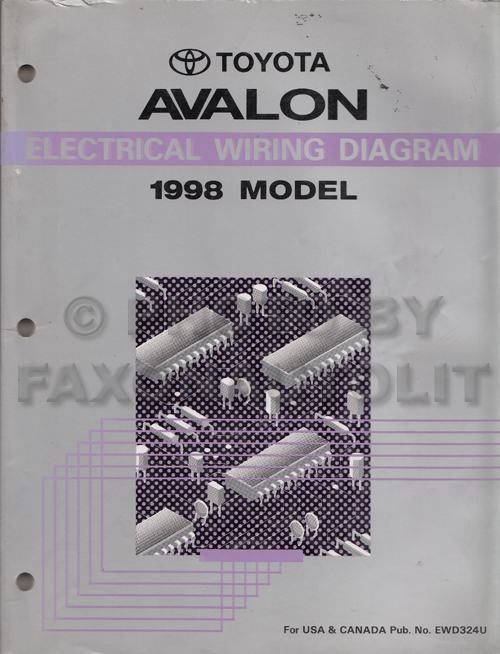 1998ToyotaAvalonEWD 1998 toyota avalon wiring diagram manual original avalon wiring diagram at readyjetset.co