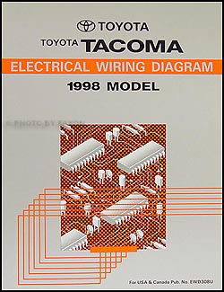 1998ToyotaTacomaETM 1998 toyota tacoma pickup wiring diagram manual original Tacoma Body Parts Diagram at creativeand.co