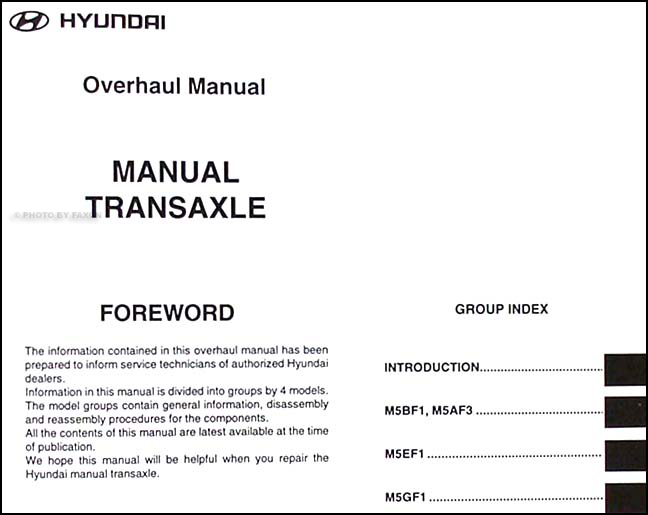 1999 2000 hyundai manual transaxle overhaul manual original rh faxonautoliterature com hyundai atos prime service manual hyundai atos service manual pdf