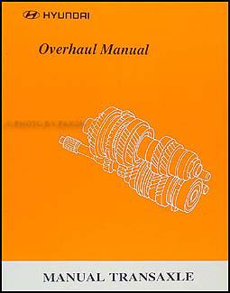 1999-2000 Hyundai Manual Transaxle Overhaul Manual Original