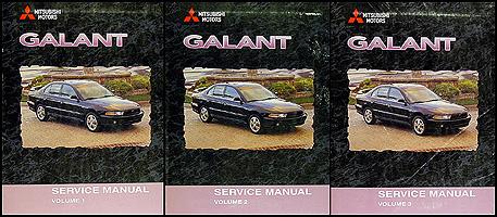 2003 mitsubishi galant repair manual