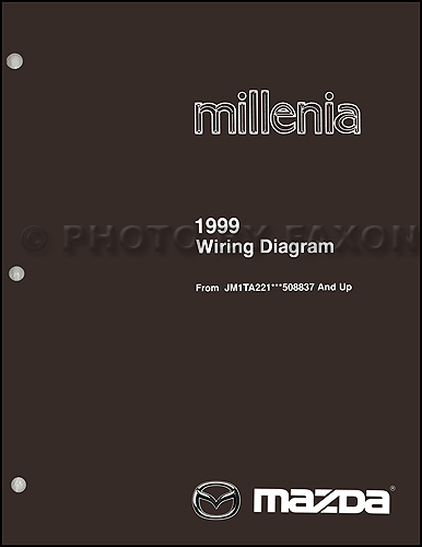 1999 5 Mazda Millenia Wiring Diagram Supplement Original