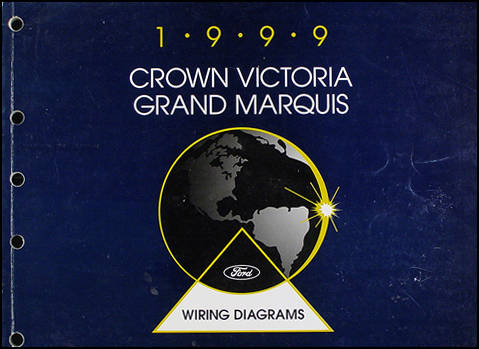 1999 Ford Crown Victoria Mercury Grand Marquis Wiring Diagram Manual