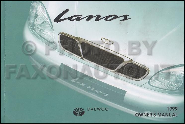 1999 Daewoo Lanos Wiring Diagram Manual Original