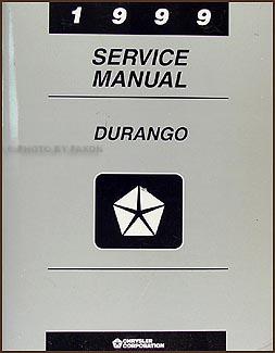 1999 dodge durango repair shop manual original rh faxonautoliterature com 1999 dodge durango factory service manual 1998 Dodge Durango
