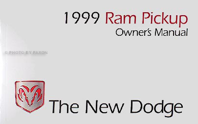 1999 dodge ram pickup truck original owners manual gasoline models sciox Image collections