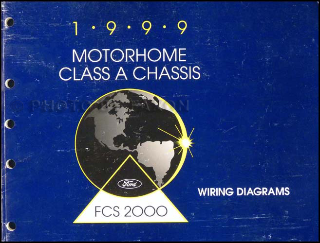 1999F53OWD 1999 ford f53 motorhome class a chassis wiring diagram manual ford motorhome wiring diagram at bayanpartner.co