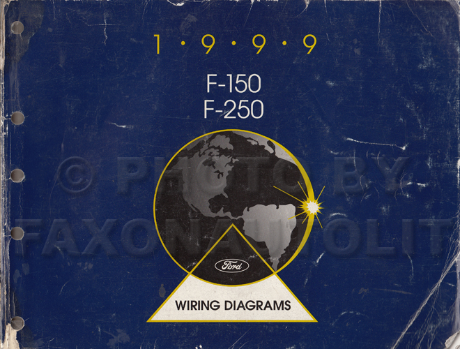 1999 ford f 150 \u0026 f 250 wiring diagram manual original99 Ford F 250 Wiring Diagrams #19