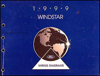 1999    Ford       Windstar       Wiring       Diagram    Manual Original