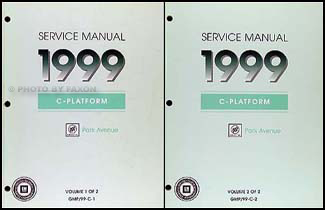 1999 buick park avenue repair shop manual original 2 volume set rh faxonautoliterature com 1995 Buick LeSabre 1995 Buick LeSabre