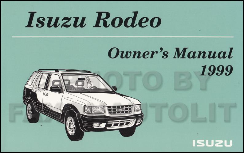 1999 isuzu rodeo amigo electrical troubleshooting manual original rh faxonautoliterature com 2002 Isuzu Rodeo Wiring-Diagram Isuzu Rodeo Motor Diagram