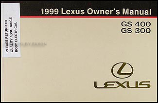 1999 lexus gs300 wiring diagram 1999 image wiring 1999 lexus gs 300 400 wiring diagram manual original on 1999 lexus gs300 wiring diagram