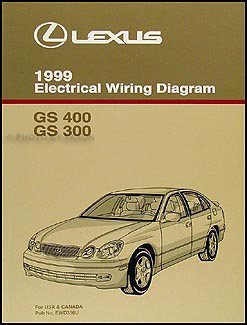 1999LexusGSWD 1999 lexus gs 300 400 wiring diagram manual original Kubota Electrical Wiring Diagram at crackthecode.co