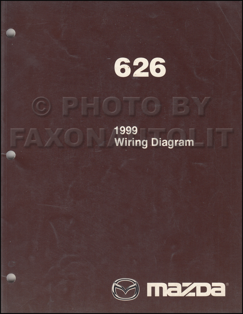 1999Mazda626OWD 1999 mazda 626 wiring diagram manual original 1999 mazda 626 radio wiring diagram at fashall.co