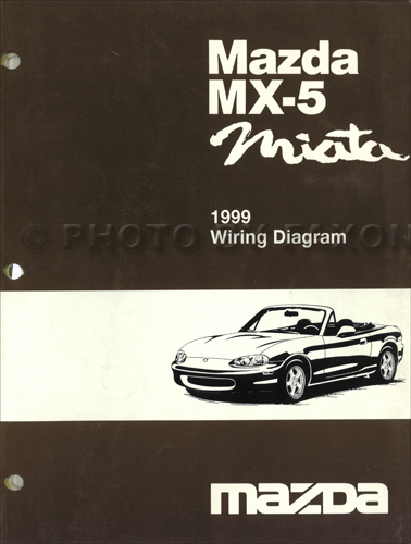 1999MazdaMiataOWD 1999 mazda mx 5 miata electrical wiring diagram original 1995 miata wiring diagram at gsmx.co