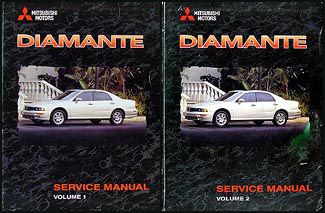 1999 mitsubishi diamante repair shop manual set original rh faxonautoliterature com 2004 Mitsubishi Diamante 1998 Mitsubishi Diamante