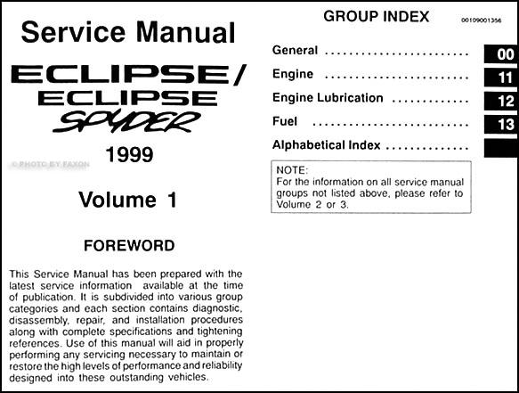 1999 mitsubishi eclipse repair shop manual set original rh faxonautoliterature com 1998 mitsubishi eclipse repair manual 1998 mitsubishi eclipse service manual pdf