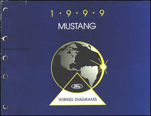 1999MustangEVTM 1999 ford mustang wiring diagram manual original 1999 ford mustang wiring diagram at creativeand.co