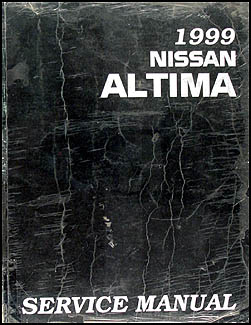 1999 Nissan Altima Repair Manual Original