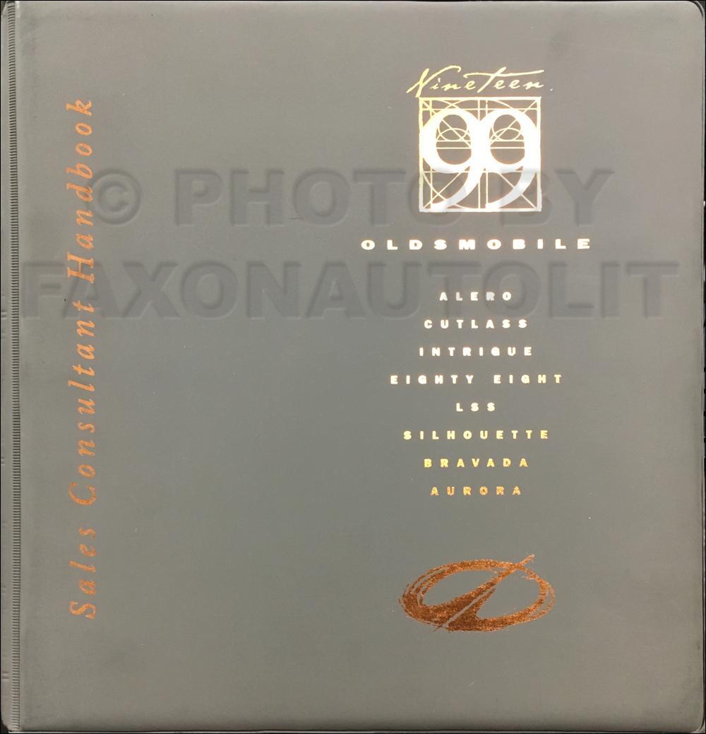 1999 Oldsmobile Color and Upholstery Dealer Album / Data Book Original