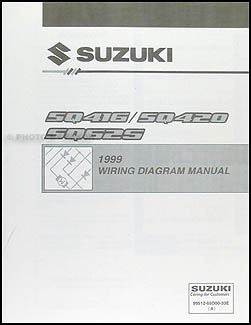 1999 suzuki vitara & grand vitara wiring diagram original, Wiring diagram