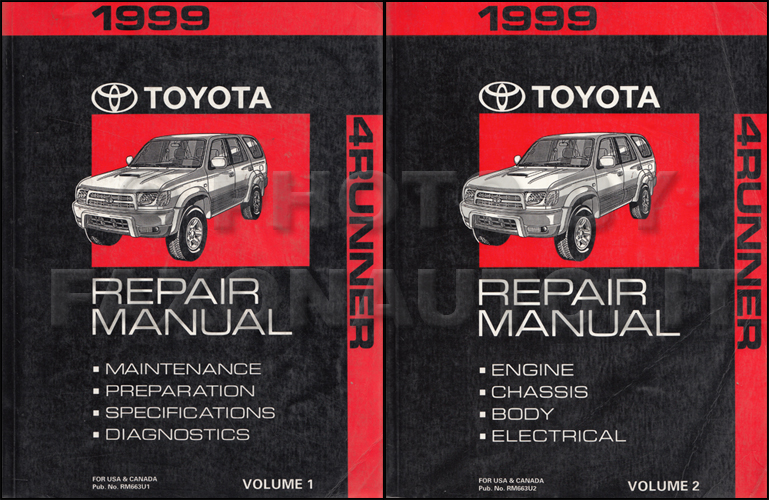 service manual for 1999 toyota 4runner free owners manual u2022 rh wordworksbysea com 2006 toyota 4runner repair manual 2007 toyota 4runner repair manual pdf