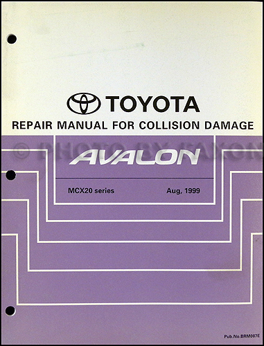 2003 toyota avalon repair shop manual 2 volume set original rh faxonautoliterature com 2006 Toyota Avalon 2008 Toyota Avalon