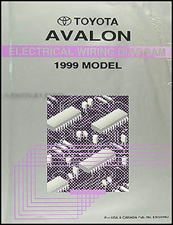 1999ToyotaAvalonWD 1999 toyota avalon wiring diagram manual original 1999 toyota avalon wiring diagram at crackthecode.co