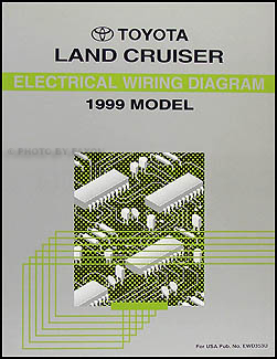 1999 toyota land cruiser wiring diagram manual original rh faxonautoliterature com 1997 Toyota Land Cruiser 1998 Toyota Land Cruiser