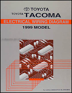 1999 toyota tacoma pickup wiring diagram manual original rh faxonautoliterature com 1999 toyota tacoma headlight wiring diagram 1999 toyota tacoma headlight wiring diagram