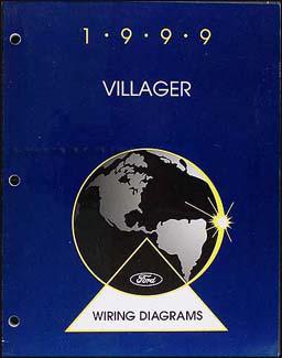 1999VillagerWD 1999 mercury villager wiring diagram manual original