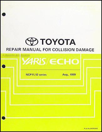 2000 2005 toyota echo body collision repair shop manual original rh faxonautoliterature com echo show manual pdf echo show manual for dummies