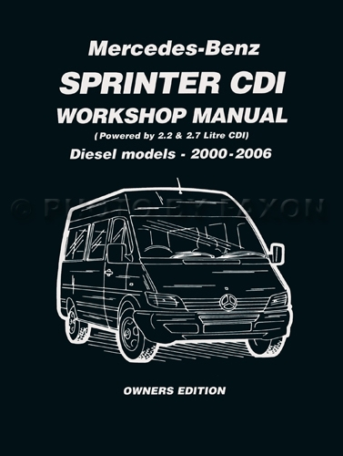 2000 06MercedesBenzSprinterCDIRM 2000 2006 sprinter brooklands owners workshop manual dodge  at webbmarketing.co