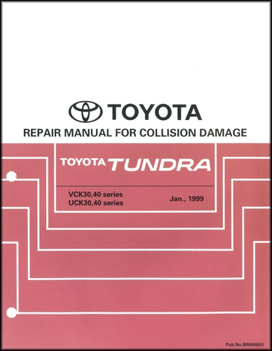 2000 Toyota Tundra Wiring Diagram Manual Original