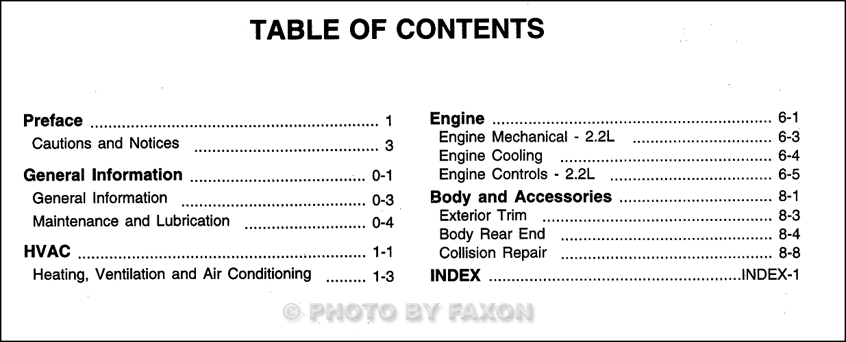 2000 cavalier bi fuel repair shop manual original supplement rh faxonautoliterature com 2000 chevy cavalier repair manual pdf 2000 chevy cavalier repair manual