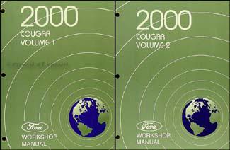 2000 Mercury Cougar Wiring Diagram Manual Original