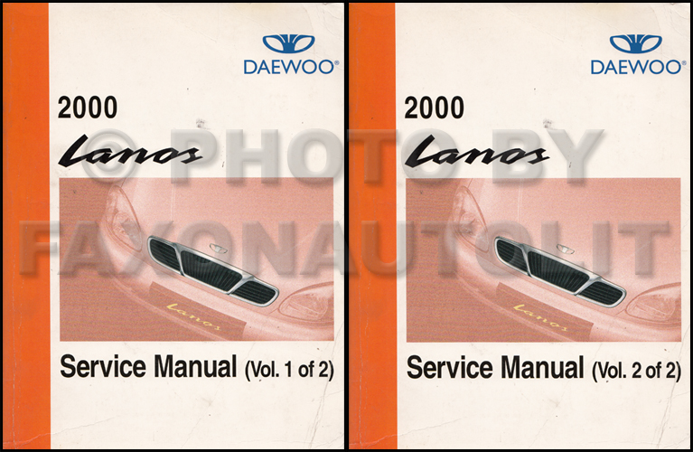 2000 daewoo lanos repair shop manual original 2 volume set rh faxonautoliterature com 2000 daewoo lanos repair manual 2000 daewoo lanos repair manual free