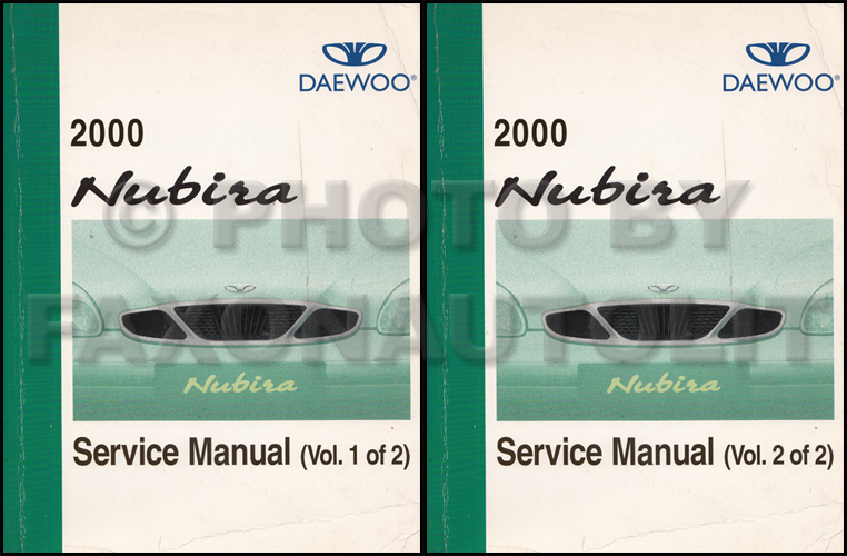 2000 daewoo nubira repair shop manual original 2 volume set rh faxonautoliterature com daewoo service manual captiva daewoo service manual lacetti