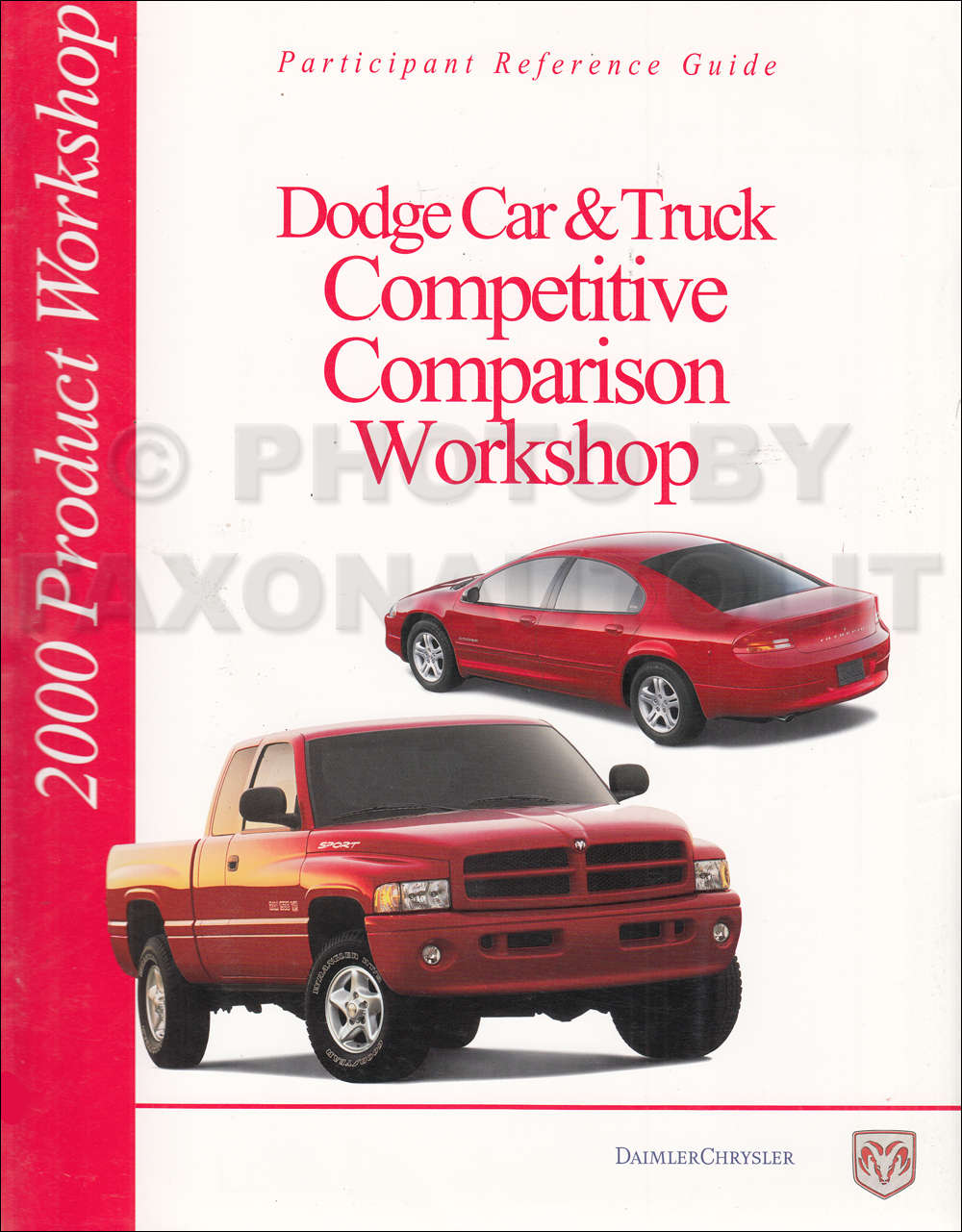 2000 Dodge Ram Truck Repair Shop Manual Original 1500