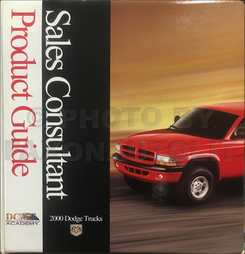 2000 Dodge Truck Sales Guide Dealer Album Ram 1500-3500