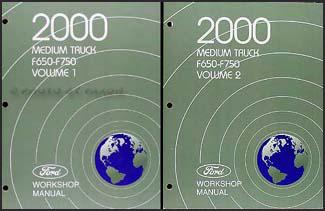 2000 ford f650 f750 medium truck wiring diagram manual original 2000 ford f650 f750 medium truck repair shop manual 2 volume set original 129 00